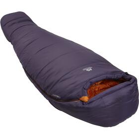 Mountain Equipment Starlight II Sleeping Bag Long Women, aubergine / blaze